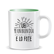 """LO FOTE"" Taza color interior"