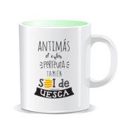"""PERFEUTA UESCA"" Taza color interior"