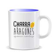 """ARAGONES"" Taza color interior"