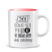 """ZABORRAS"" Taza color"