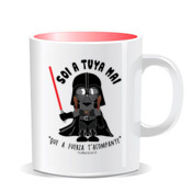 """STARWARS MAI"" Taza color interior"