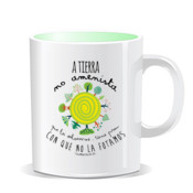 """TIERRA"" Taza color interior"