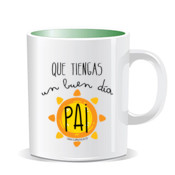 """BUENDIA Pai"" Taza color interior"