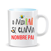 """CLAMA pai"" Taza color"