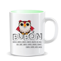 """BUBON"" Taza color interior"