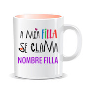 """CLAMA filla"" Taza color"