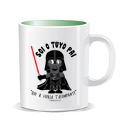 """STAR WARS PAI"" Taza color interior"